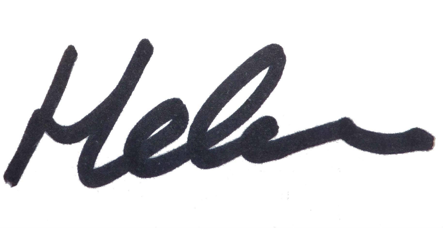 Helen Signature 2